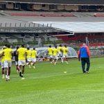 Olimpia entrena en el Azteca para su decisivo juego ante el América
