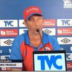 Pedro Troglio le responde a Diego Vázquez: «A Motagua también le ayudan»