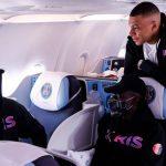 Mbappé viajó a Manchester a pesar de la lesión