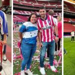 Hondureña Denia Cerrato celebró con los campeones de España