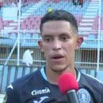 Jesse Moncada tras su gol, optimista de lograr la clasificación en Tegucigalpa