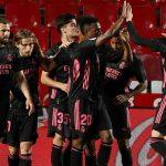 Real Madrid golea 4-1 al Granada y mantiene el sueño de ganar la liga española