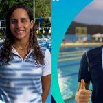 Los nadadores hondureños Julimar Ávila y Julio Horrego estarán en los Juegos Olímpicos de Tokio
