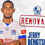 Olimpia concretó la renovación de Jerry Bengtson por un año