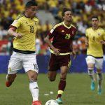 Ni Falcao ni James Rodríguez pudieron con Venezuela
