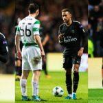 Neymar se burla de un jugador juvenil del Celtic