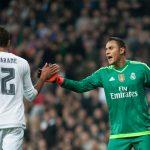 Zidane no tendría a Keylor Navas y Varane este fin de semana