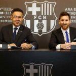 Las impresionantes cifras del nuevo contrato de Messi
