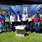 Equipos profesionales reciben implementos deportivos de Concacaf