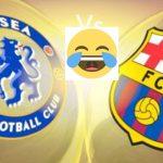 Los mejores memes del empate entre Chelsea y Barcelona