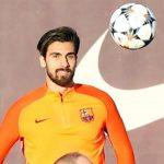 El emotivo gesto del Barcelona con André Gomes