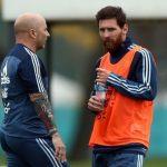 Messi apunta a ser titular contra España