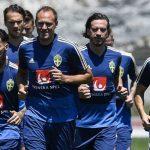 La selección sueca fue recibida en Rusia por…¡solo una aficionada!