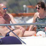 Zidane se olvida del fútbol y disfruta de las aguas de Ibiza