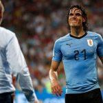 ¿Podrá jugar Cavani ante Francia?