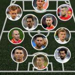 El once ideal de los eliminados del Mundial