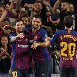 El Barcelona golea al PSV Eindhoven