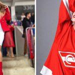 El Spartak Moscú anunció lesión de jugadora con sensual imagen