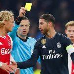 Sergio Ramos es sancionado con dos partidos en Champions