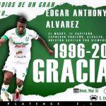 Edgard Álvarez colgará los botines el domingo contra Olimpia
