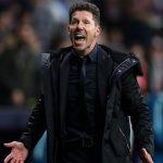 El «Cholo» Simeone es multado con 20.000 euros