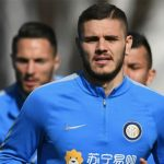 Mauro Icardi reaparece en el entrenamiento del Inter de Milán
