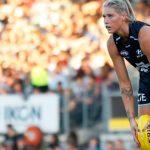 La imagen de jugadora australiana que generó «abuso sexual en redes sociales»