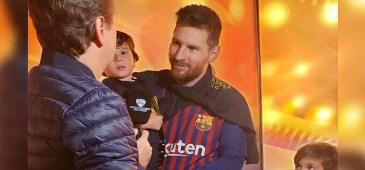Emotivo vídeo de niños argentinos enviándole un mensaje a Lionel Messi y sus hijos
