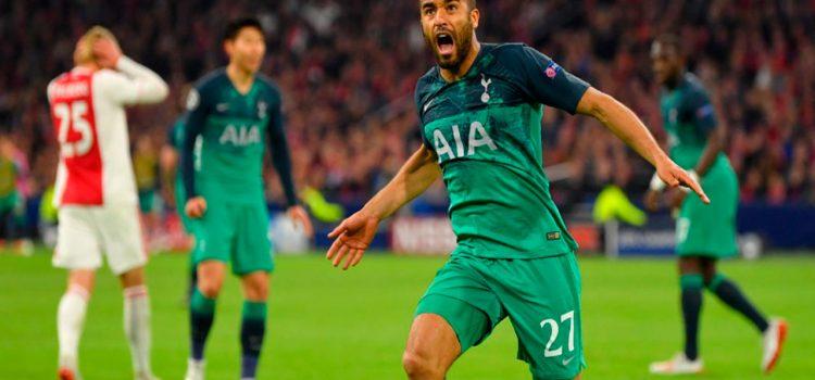 Épico: Hat-trick de Lucas Moura clasifica al Tottenham a la final de la Champions League