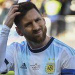 Conmebol anuncia suspensión para Leo Messi