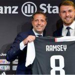 Juventus presenta al galés Aaron Ramsey, que llevará el «8» de Marchisio