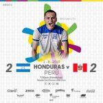 Honduras empata sobre la hora 2–2 ante Perú en los Juegos Panamericanos