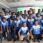Selección de Honduras regresó con plata al país