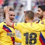 Barcelona derrota 4-0 al Nápoles en el estreno goleador de Griezmann
