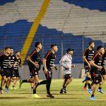 La selección de Chile entrenó en el Estadio Morazán