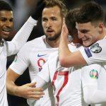Inglaterra golea 4-0 a Kosovo por las eliminatorias a la Eurocopa 2020