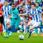 Barcelona empata 2-2 ante Real Sociedad y cede terreno en la pelea por la liga española
