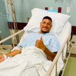 El futbolista hondureño Bryan Acosta es operado en Estados Unidos
