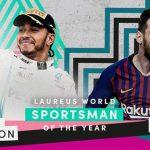 Messi y Hamilton comparten el premio Laureus a mejor deportista masculino del año