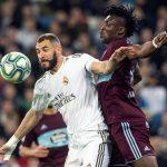 Real Madrid empata 2-2 ante el Celta en el Bernabéu