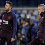 La plantilla del Barcelona molesta por las actitudes del asistente técnico de Quique Satién