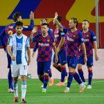 Barcelona despacha al Espanyol a segunda división