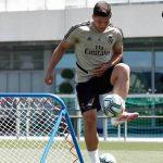 Luka Jovic vuelve a entrenar tras estar aislado por prevención ante coronavirus