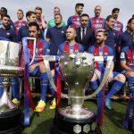 El Barcelona paseará sus trofeos por Latinoamérica a partir de marzo