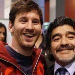 «Nos deja pero no se va, porque el Diego es eterno», se despide Messi