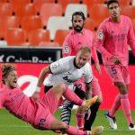 Valencia golea 4-1 al Real Madrid con un hat-trick de penaltis