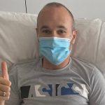 Andrés Iniesta será baja por cuatro meses tras operación de rotura muscular