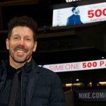 Diego Simeone cumple 500 partidos dirigiendo al Atlético de Madrid
