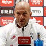 Zidane: «Nunca he pensado que soy intocable»
