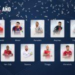 Lionel Messi, Cristiano Ronaldo y Sergio Ramos en el equipo 2020 de los aficionados